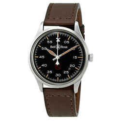 Bell And Ross Vintage Military Automatic Black Dial Men's Watch Brv192-mil-st/sca