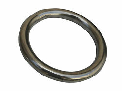 1/4andrdquo X 1-3/16andrdquo 316 Grade Stainless Steel Marine Round O Ring Rigging For Boat