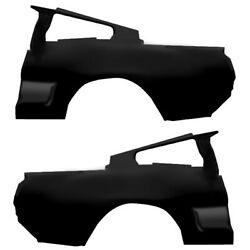 1967 Mustang Quarter Panels Pair Right And Left Convertible Edp Steel Dynacorn