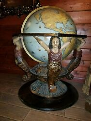 Original Screen Used Movie Prop Captain Hookand039s Globe From 2003 Movie Peter Pan