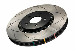 Dba 5000 Series Slotted Front Rotors W/ Black Hats For 09-11 Gt-r - 52320blks