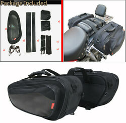 36-58L Durable Universal Motorcycle Saddle Bags Luggage Helmet Tank WRain Cover