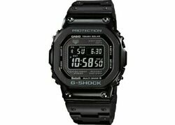 New G-shock Full Metal Bluetooth Black Edition Watch Gmw-b5000gd-1 Free Shipping