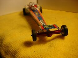 1960and039s Carl Casper Cosmic Charger Dragster 1/24 Slot Car Offered By Mth