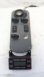 02 Freightliner Century Class Rear Bunk Light Climate Control Detroit Button Con