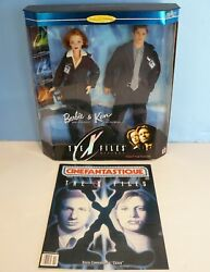 Barbie Kenthe X-files Collectors Edition Doll Set1998dana Scully And Fox Mulder