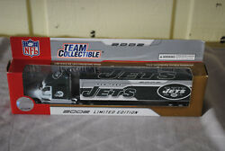 New York Jets 2002 Limited Edition Die Cast Tractor Trailer Nib