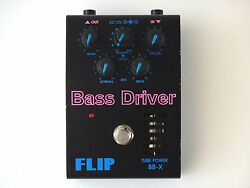 Guyatone Bass Driver Flip Tube Power BB-X Vintage Effects Pedal