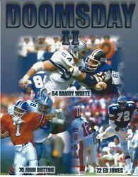 Doomsday Ii Randy White Dallas Cowboys 8 X 10 Photo With Ultra Pro Toploader