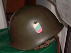 Metal Military Helmet By The Bulgarian Army. Excellent Condition.