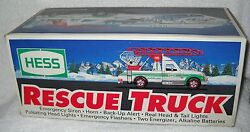 4217 Nrfb Hess Gas Station 1994 Christmas Rescue Truck