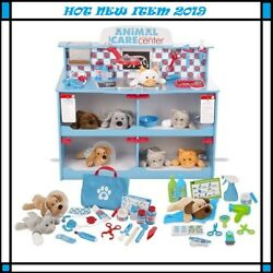 Animal Care Veterinarian & Groomer Wooden Activity Center BUNDLE (FREE SHIPPING)