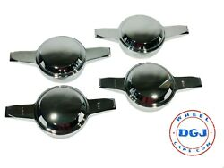 Zenith Smooth Dome Chrome Knock-off Spinners For Lowrider Wire Wheels