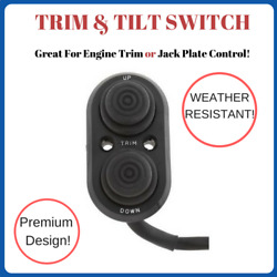 Weatherproof Transom Or Dash Mount Tilt And Trim / Jack Plate Control Switch 28131