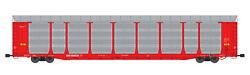 Usa Trains G Scale Bi Level Auto Carrier R17186 Soo Line Red