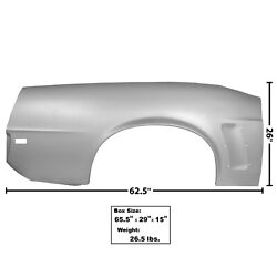 1969 Mustang Quarter Panel Complete Convertible Right Side Dynacorn 3644l