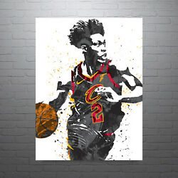 Collin Sexton Cleveland Cavaliers Poster Free Us Shipping