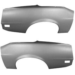 1970 Mustang Quarter Panel Complete Convertible Right And Left Side Wtp Dynacorn
