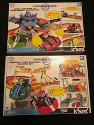 Lot Of 15 Different K'nex Mario Kart Wii Sets, Stone Bowser/ultimate Castle, New