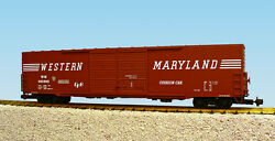 Usa Trains G Scale 60 Ft Double Door Box Car R19414b Western Maryland