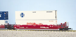 Usa Trains G Scale Intermodal 5 Unit Articulated Set R17154 Southern Pacific No