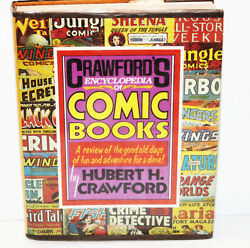 Encyclopedia Of Comic Books By H. H. Crawford Hc/dj 1978 - Golden Age/horror