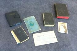 Family Bible Lot Family History Photo Marriage Estate Lot Unusual Books Mixed Vd