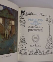 Peter Pan And Wendy -Easton Press Collector's Edition Bound Genuine Leather 2002