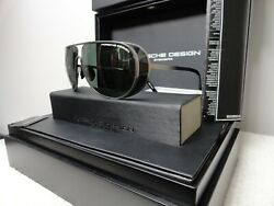 Porsche Limited ONLY700 pairs Mod P8591 titanium& Green lens   very Rare!!! New