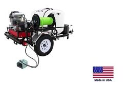 PRESSURE WASHER Jetter - Trailer Mounted - 200 Gal - 8 GPM - 3500 PSI - 22 Hp