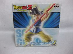New Dragon Ball Z Goku Prefabricated Action Pose Figure 3 Japan Official