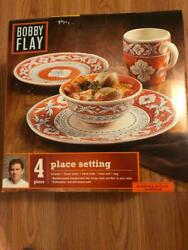 Bobby Flay Collection Andalucia 4 Piece Place Setting