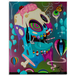 Patch Whisky-the Resurrection Of The Candy Man-original-acrylic On Canvas 1-off