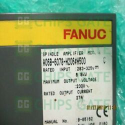 1pcs Used Fanuc A06b-6078-h206500 Tested In Good Condition Fast Ship