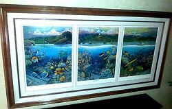 Robert Lyn Nelson Undersea Symphony Of Hana Limited Edition Print Lithograph
