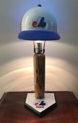 Montreal Expos Gary Carter Game Issued P89 Bat Lamp