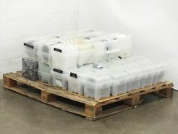 Entegris 150mm Ultrapak Wafershield Containers W/ 6 Used Wafers Lot Of 40 Boxes