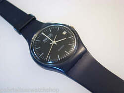 Gn400 Collectible 1983 Blue Swatch W 7 Hole Band And Date Code 783, X-rare