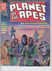 Planet Of The Apes Magazine 1 Vf/nm+