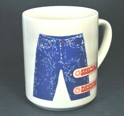 Levi Strauss Blue Jeans 100 Shopping Stores Pants Retail Clothing Coffee Mug Cup