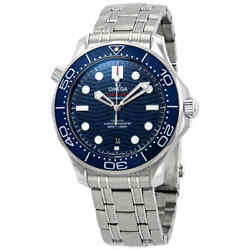 Omega Seamaster Automatic Blue Dial Steel Menand039s Watch 210.30.42.20.03.001