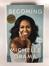 Michelle Obama Becoming First Edition Signed Copy