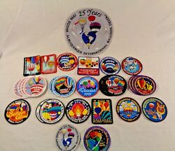 Lot Of 59 Albuquerque International Balloon Fiesta Pins And Patches 80's 90's