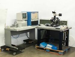 Nano Instruments Micro Indenter Control Unit W/ Microscope And Hp 9153c Disk Drive
