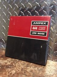 444 Ampex Low Noise Tape Reel 1 Mil 1/4andrdquo X 1800 Feet Seven Inch New And Sealed