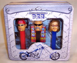 Pez - Orange County Choppers - Collector Set - New