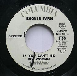 Rock Promo Nm 45 Boones Farm - If You Canand039t Be My Woman Stereo / If You Canand039t