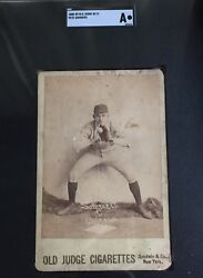 1888 N173 Old Judge Goodwin Cabinet Baseball Card Pete Sommers - Chicago