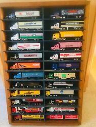 Vintage Matchbox Semi Fuel Tanker Articulated Low Bed Horse Box Trailers Lot