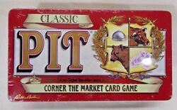 Classic Pit Card Game A Favorite Since 1904 - Parker Brothers - Tin - Rare